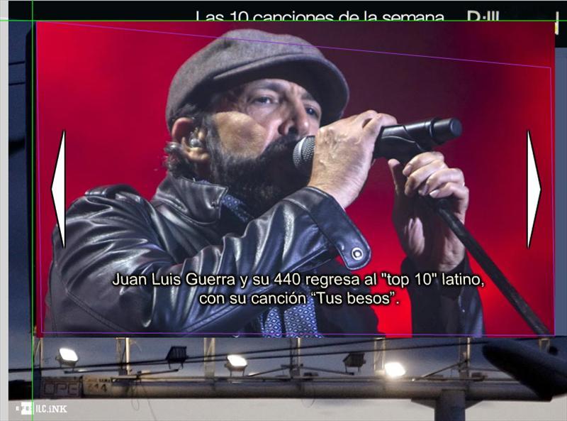 "Juan Luis Guerra en ""top 10"" latino"