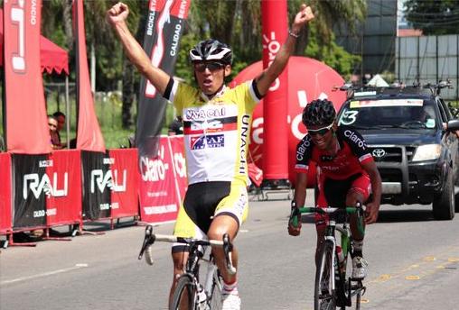 Colombiano gana sexta etapa Vuelta a Guatemala