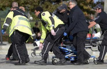 Muerto atacante a Parlamento canadiense