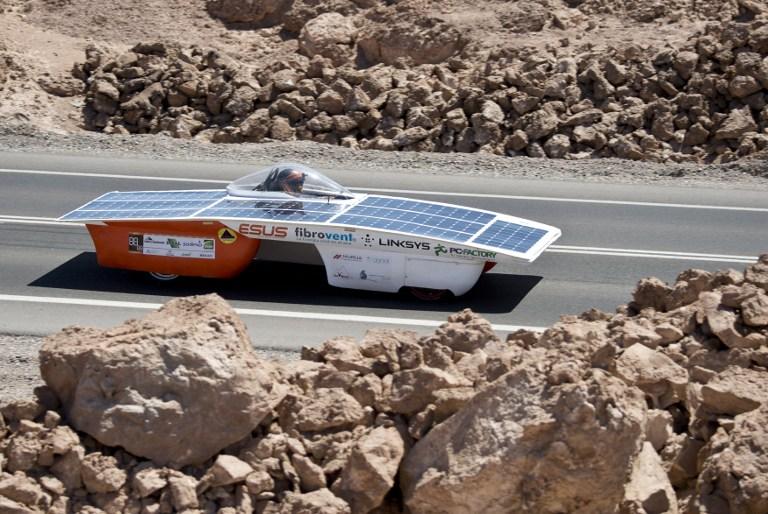 En Chile: única carrera de autos solares de Latinoamérica