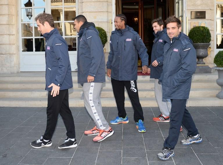 Tsonga, Monfils, Gasquet, Benneteau y Simon jugarán la final de Copa Davis
