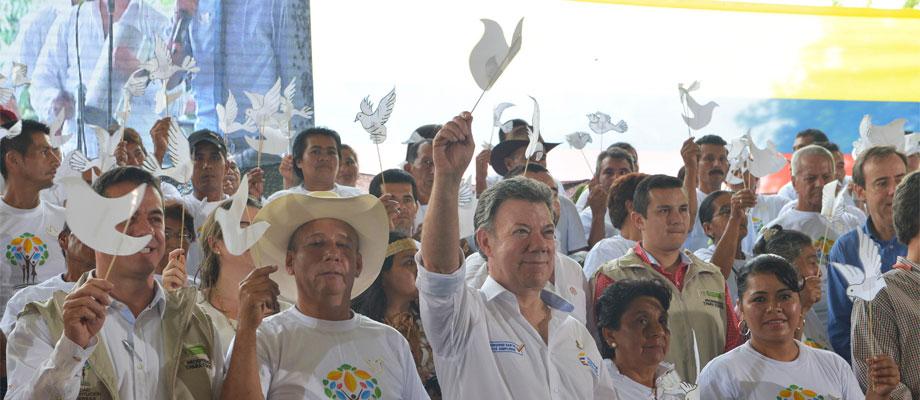 """""""Queremos continuar las negociaciones para terminar este absurdo conflicto…"""": Presidente Santos"""