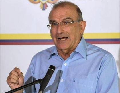 Los colombianos pueden estar seguros de que las Farc no mantendrán sus armas si se llega a un acuerdo: Humberto de la Calle