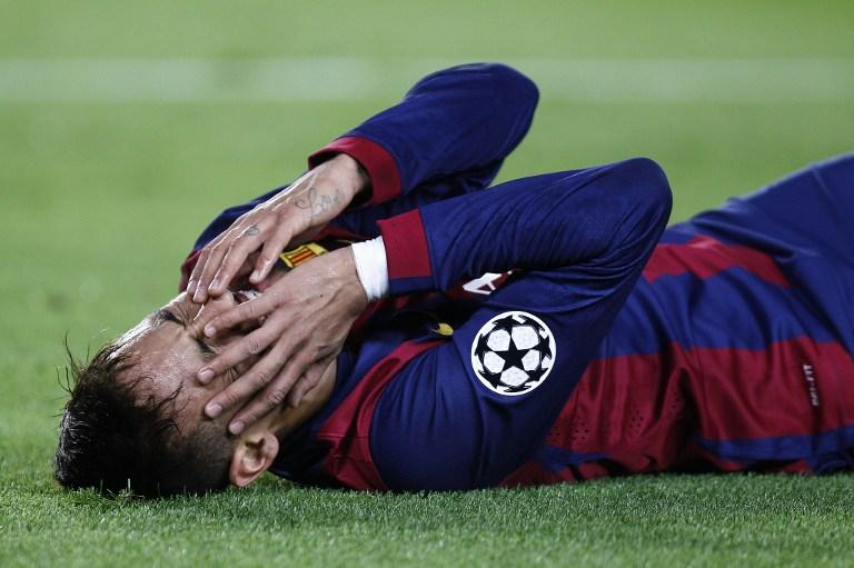 Neymar, repuesto de sus problemas en el tobillo