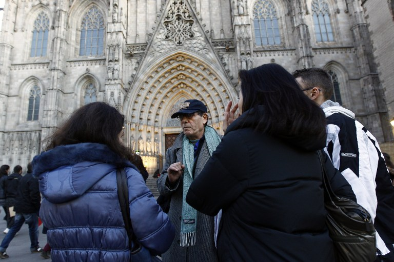 """De indigente a guía turístico en su antigua """"casa"""": las calles de Barcelona"""