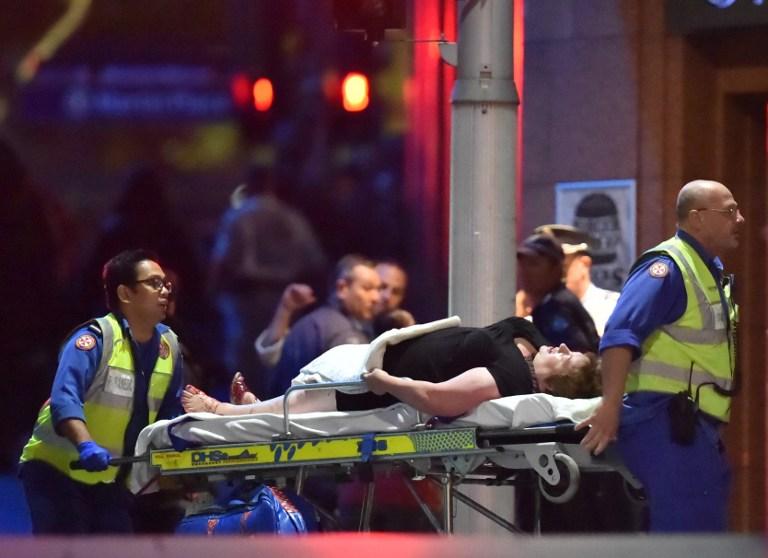 Termina con dos muertos la toma de rehenes en un café de Sídney
