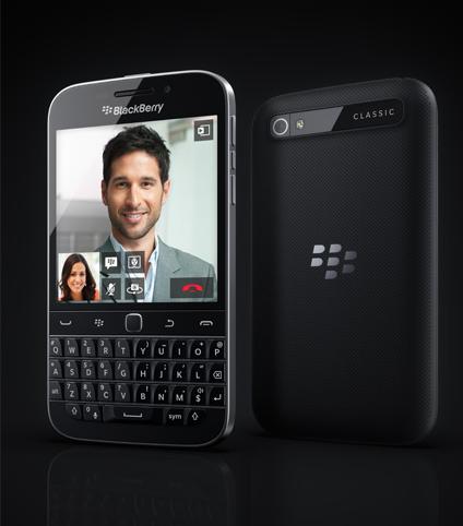 Blackberry Classic: todo lo que usted ya conoce, pero puesto al día
