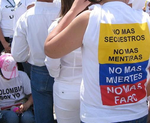 Je ne suis pas FARC, je suis Charlie