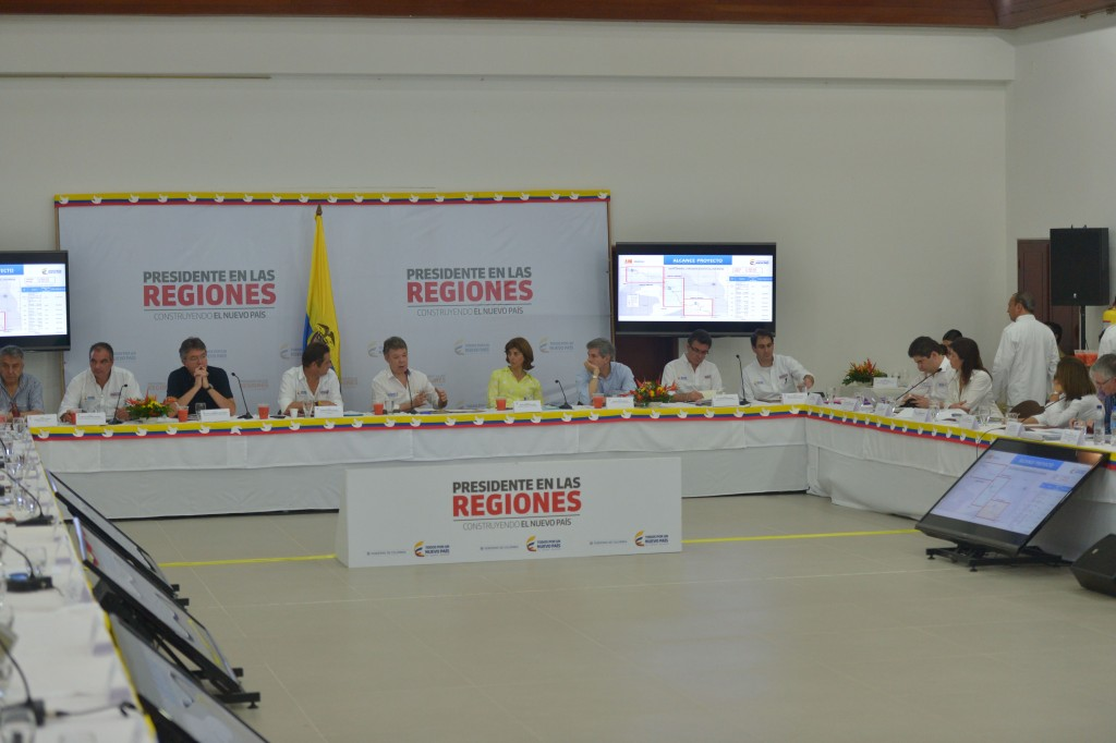 Consejo de Ministros, Leticia. Foto: Juan Pablo Bello.