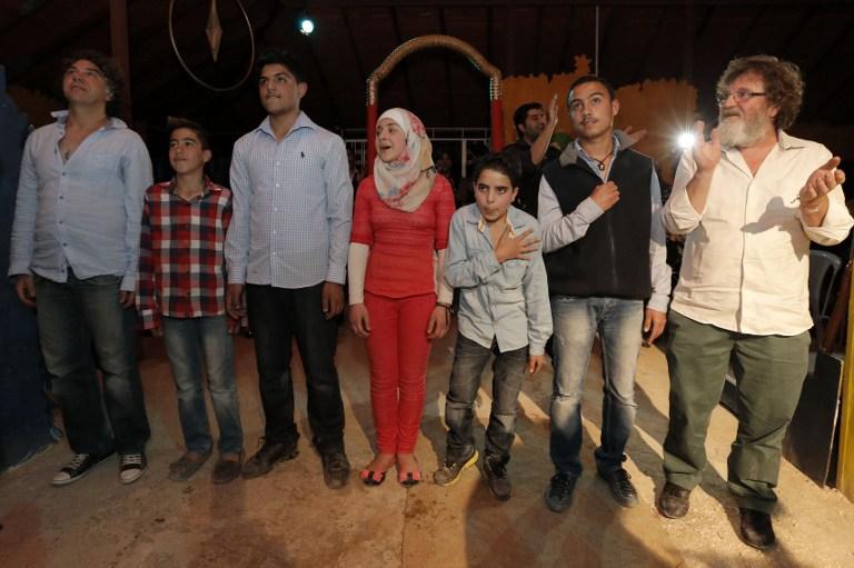 """""""Romeo y Julieta"""", una obra por Skype sobre el amor imposible en Siria"""