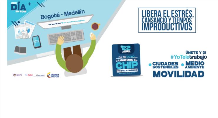 Promueven Teletrabajo en Medellín para mejorar movilidad en la ciudad
