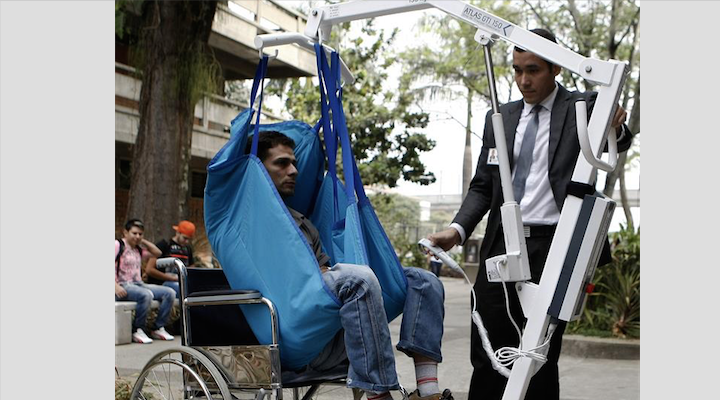 Desarrollos colombianos para discapacitados