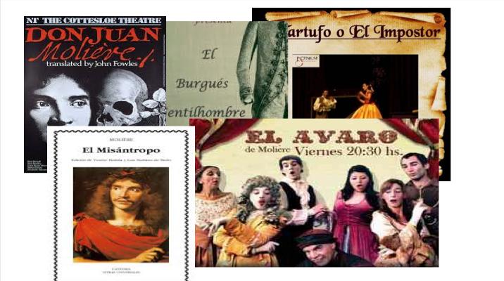 Molière y sus colombianos personajes