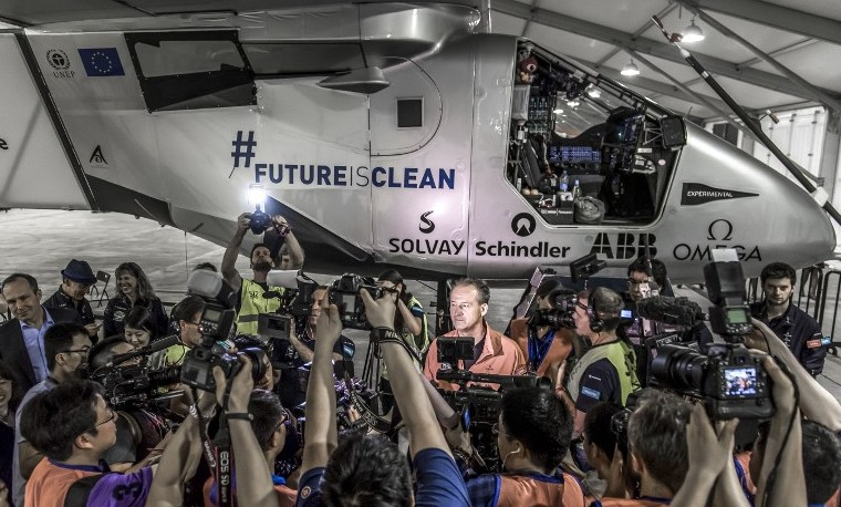 Despega desde China el Solar Impulse 2 para cruzar el Pacífico