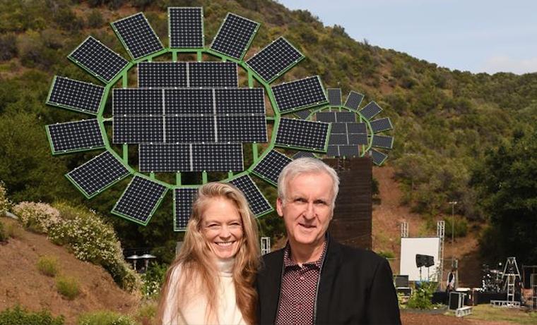 James Cameron crea unos paneles solares y ofrece su diseño en código abierto