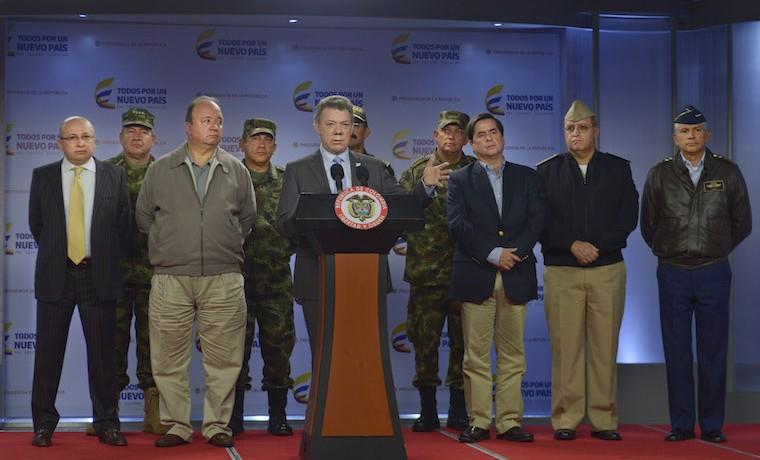 Todo apunta a que responsable de atentados en Bogotá es el ELN: Santos