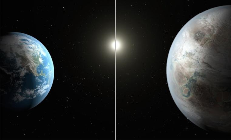 Kepler-452b. AFP PHOTO HANDOUT-NASA/JPL-CALTECH/T.PYLE