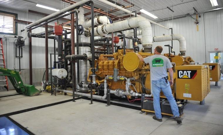 Transformar estiércol de vacas en electricidad es buen negocio en una granja de Estados Unidos