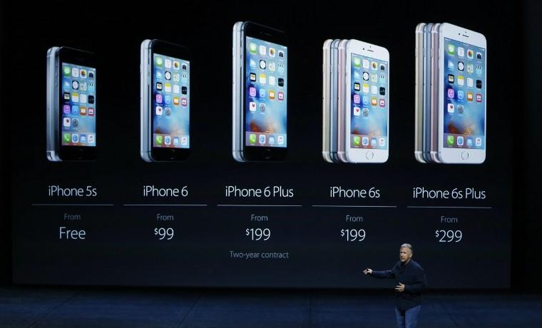 Apple lanza dos nuevos modelos de iPhone, el 6S y el 6S Plus