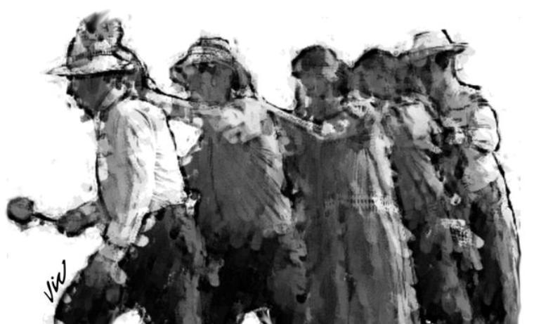 La alondra chiricana y la mujer indígena
