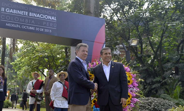 Colombia y Perú anuncian fondo de protección de la Amazonía