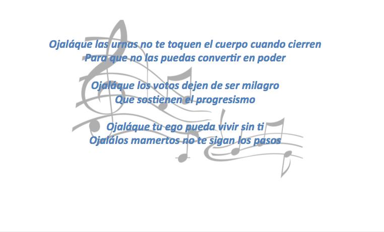 La canción de Silvio Rodriguez a Gustavo Petro