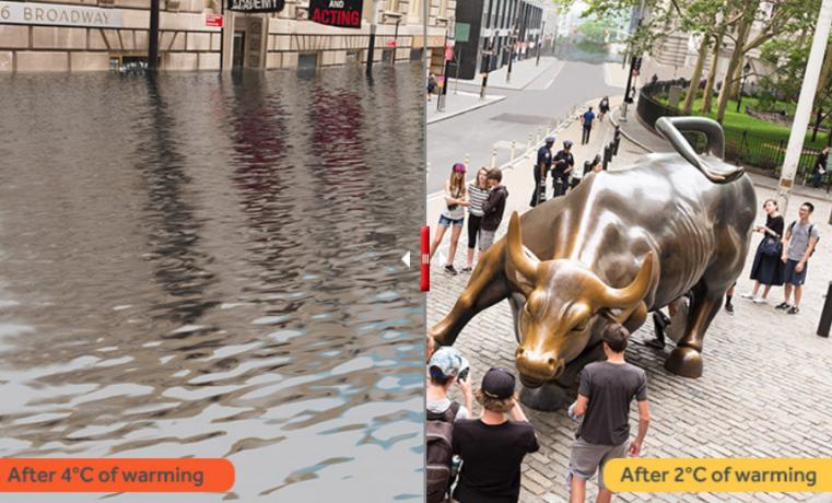 Nueva York podría inundarse cada cinco años