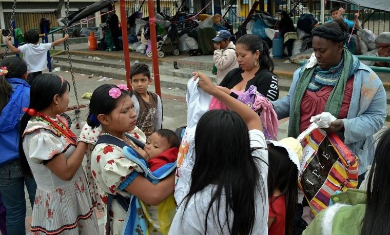 """Para indígenas embera desplazados en Colombia, la paz es """"mentira"""""""