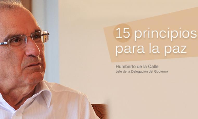 Humberto de la Calle, jefe de la Delegación del Gobierno en La Habana. La Habana, 28 de noviembre de 2015. Prensa Equipo Paz Gobierno.