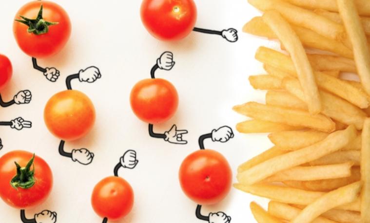El día que el tomate cherry le gane a la papa frita