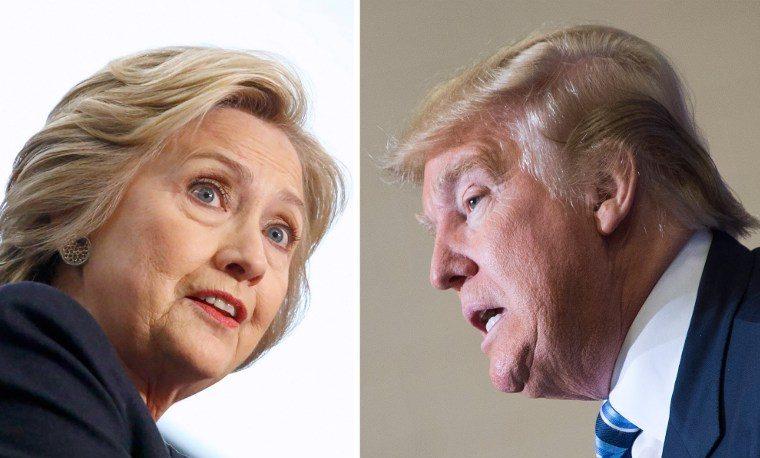Elecciones Clinton Trump