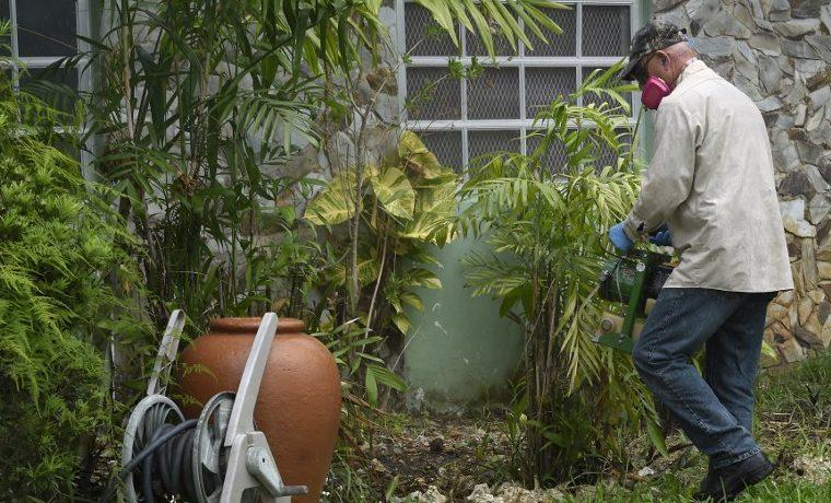 zika en Miami pesticida