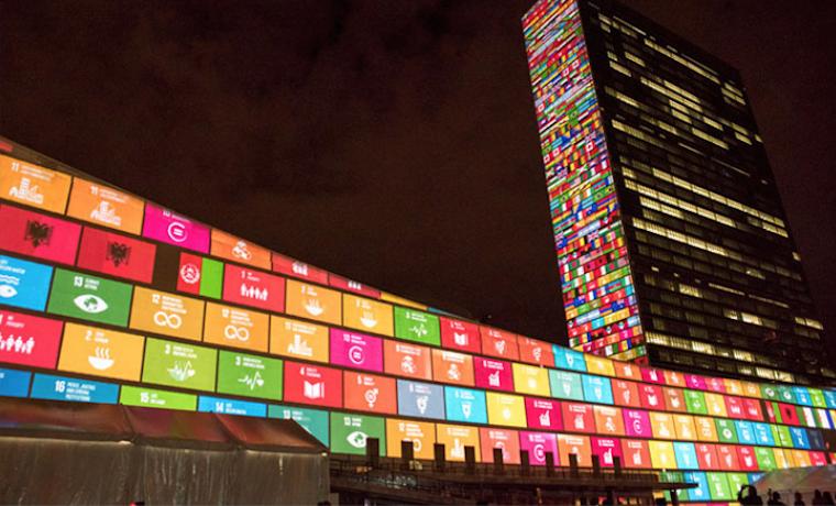 ODS Objetivos de Desarrollo Sostenible Voces