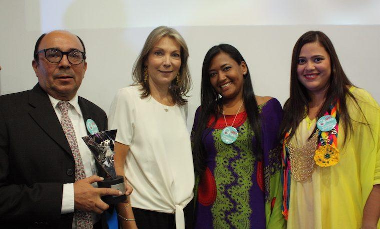 Fundación Cerrejón Guajira Indígena, ganadora del premio de Nutrición Infantil Fundación Éxito
