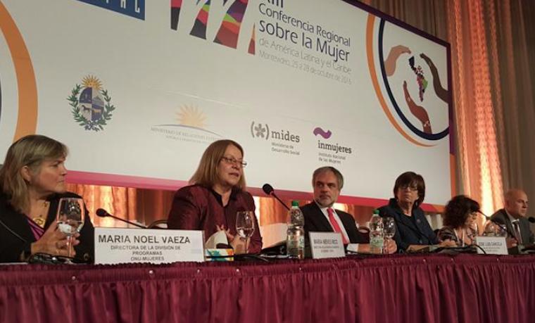 Países de América Latina y el Caribe aprobaron la Estrategia de Montevideo para alcanzar la igualdad de género en la región al 2030