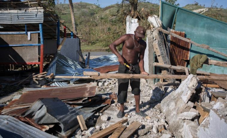 Matthew huracán Haití Oxfam