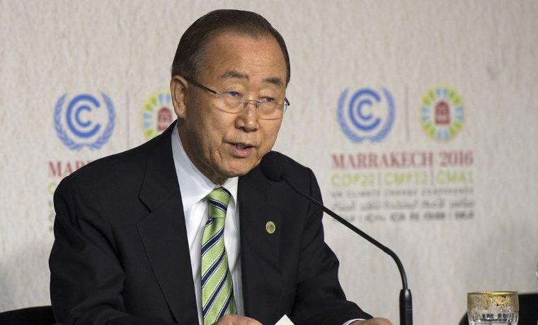 Ban Ki-moon COP22