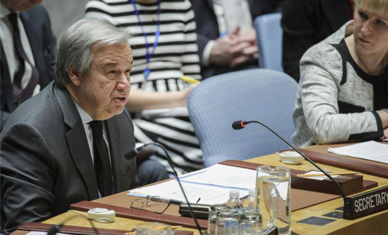 """Secretario general de la ONU lanza una """"alerta roja"""" por el planeta"""