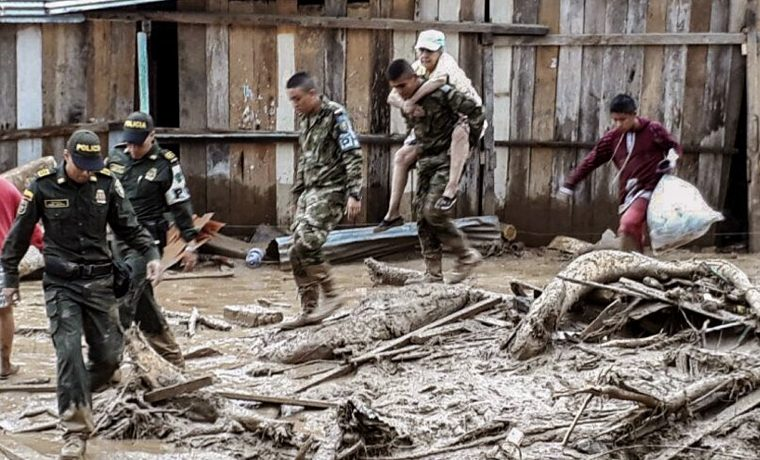 Colombia de luto tras avalancha que deja más de 200 muertos