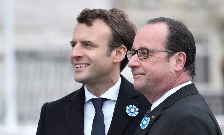 Macron Hollande Francia