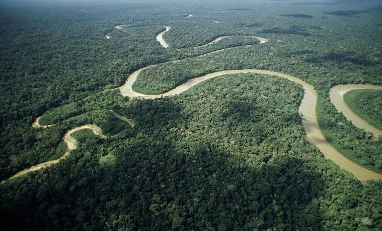 Amazonía Amazonas río