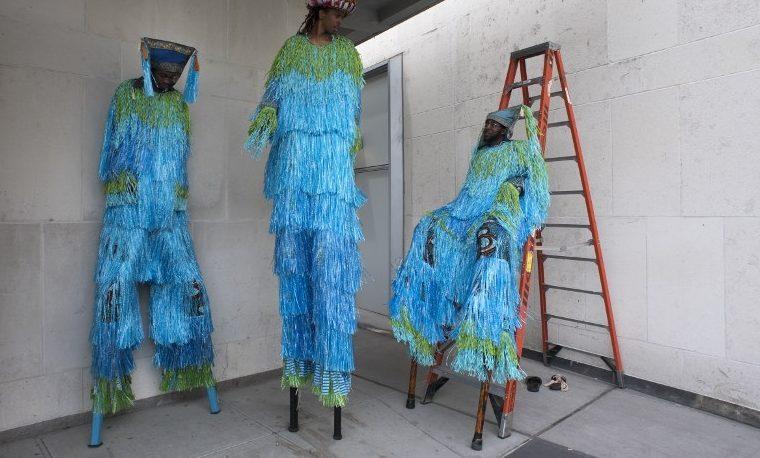 Protesta artística en el Día de los Océanos
