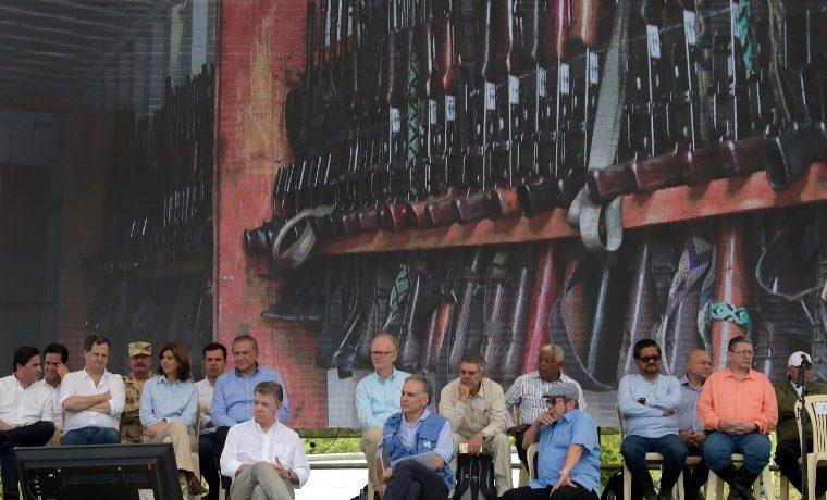 Entrega de armas: el acto más importante de la paz