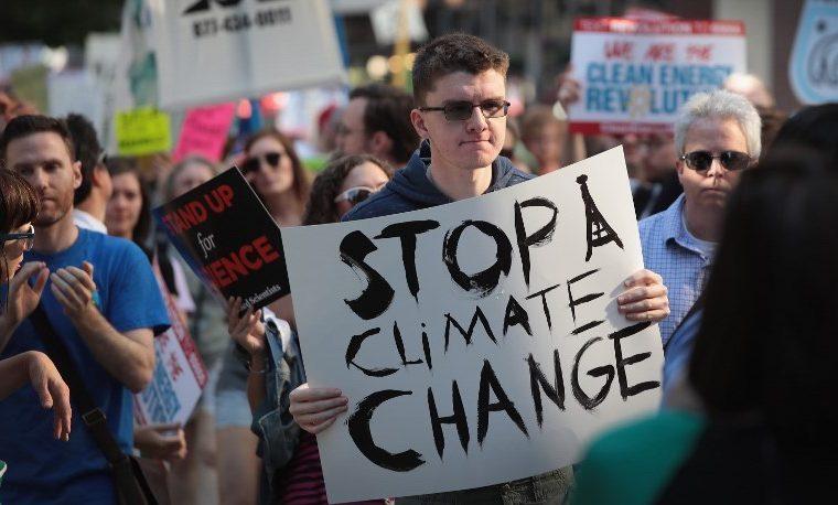 """""""Aún estamos dentro"""", el frente pro-clima en EEUU"""