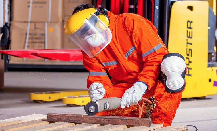 jóvenes trabajador trabajo fabrica