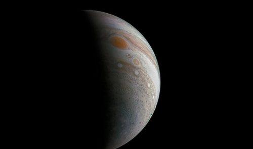 Difunden nuevas imágenes de la Gran Mancha Roja de Júpiter