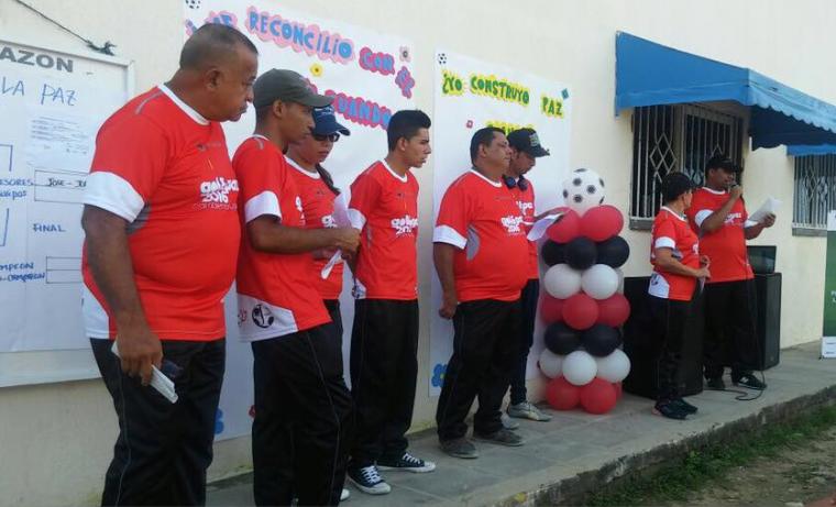 El fútbol, herramienta de paz y reconciliación