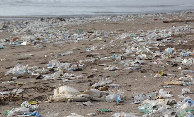 basura basuras playa contaminación