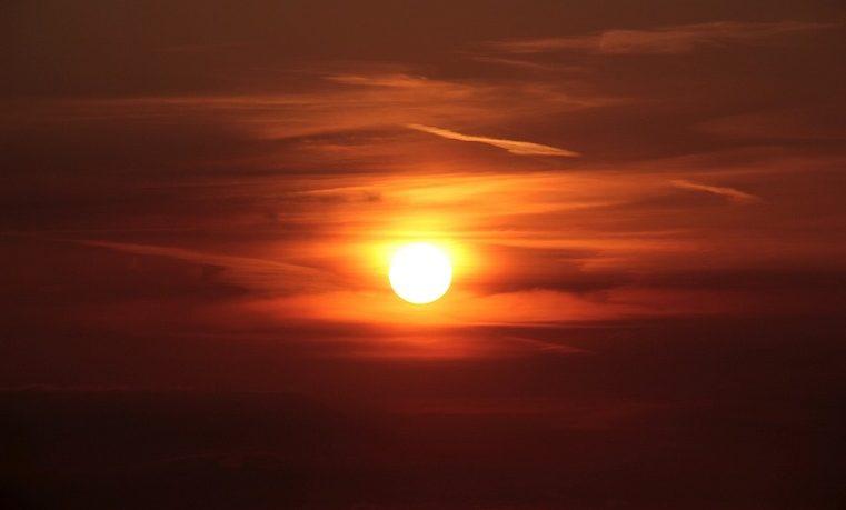 sol sunset atardecer
