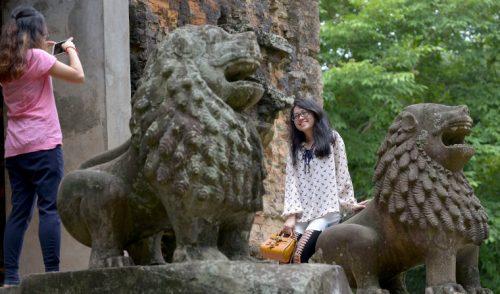 Una ciudad antigua renace en Camboya a la sombra de Angkor